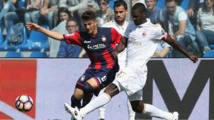 Cristian Zapata Milan vs Crotone Serie A 30042017