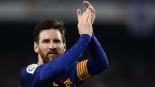 Lionel Messi Barcelona v Real Madrid La Liga 06052018