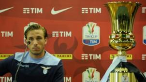 Lucas Biglia SS Lazio Training Session And Press Conference 16052017