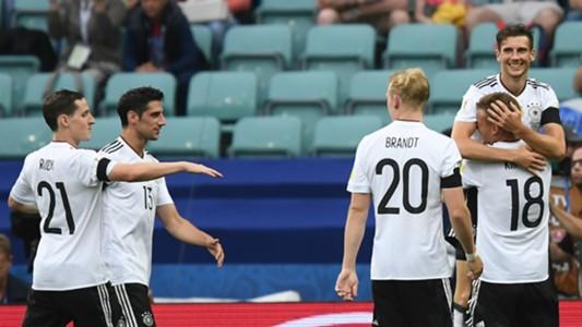 Australia v Germany Group B FIFA Confederations Cup 19062017