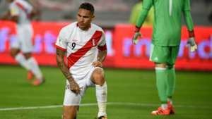 Paolo Guerrero Peru v Colombia WC qualifying south america 10102017