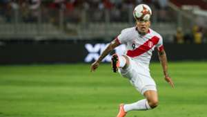 Paolo Guerrero Peru v Uruguay WC qualifying south america 28032017