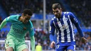 Theo Hernandez Alaves Barcelona La Liga 11022017