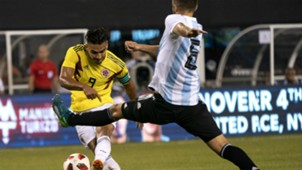 Radamel Falcao Colombia v Argentina International friendly at MetLife Stadium in New Jersey 11092018