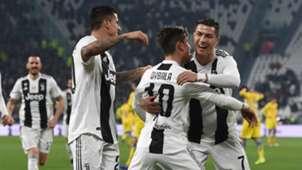 Ronaldo Dybala Juventus v Frosinone Serie A 15022019