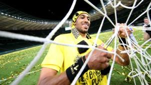 Pierre Emerick Aubameyang Eintracht Frankfurt v Borussia Dortmund DFB Pokal 27052017