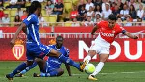 Radamel Falcao Monaco v Strasbourg Ligue 1 16092017