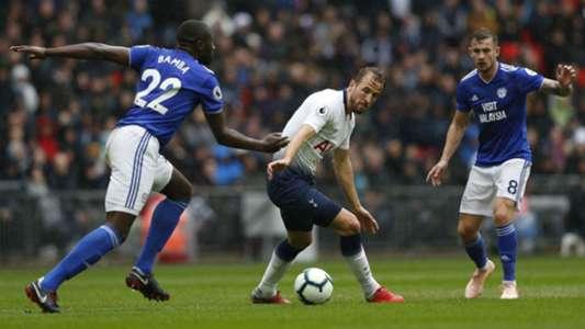 Harry Kane Tottenham v Cardiff 06102018