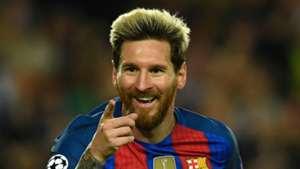 Lionel Messi Barcelona v Manchester City FC UEFA Champions League 19102016