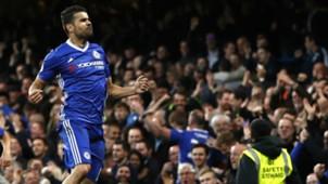 Diego Costa Chelsea v Middlesbrough Premier League 08052017