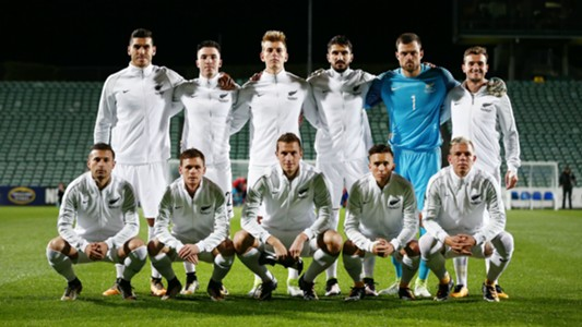 New Zealand v Solomon Island OFC qualifying World Cup 01092017