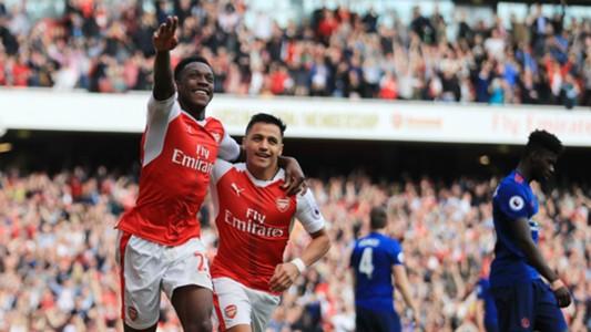 Danny Welbeck Arsenal v Manchester United Premier League 07052017