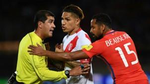 Chile v Peru WC qualifying south america 10102016