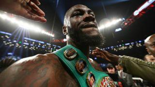 Deontay Wilder v Luis Ortiz WBC Heavyweight Championship fight at Barclays Center in Brooklyn 03032018