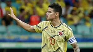 James Rodriguez Colombia v Paraguay Group B Copa America Brazil 23062019