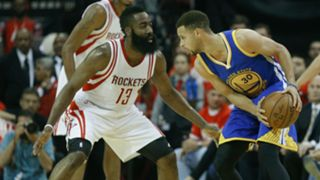 Stephen Curry y James Harden Golden State vs Houston NBA 24062016