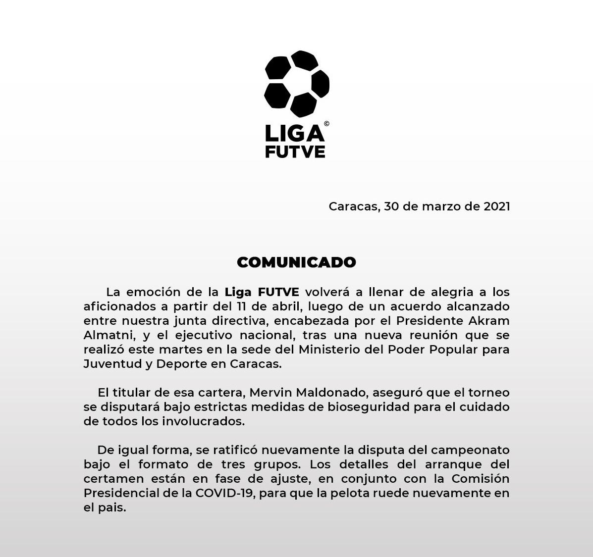 Liga FutVe release 03302021