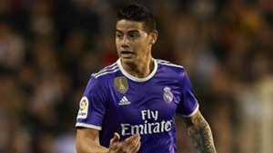 James Rodriguez Valencia CF v Real Madrid La Liga 22022017