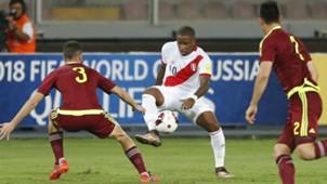 Jefferson Farfán Perú v Venezuela Eliminatorias Sudamericanas 24032016