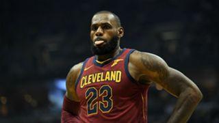 LeBron James Cleveland Cavaliers 20102017