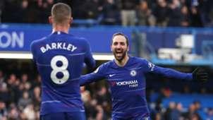 Higuaín Chelsea v Huddersfield Premier League 02022019