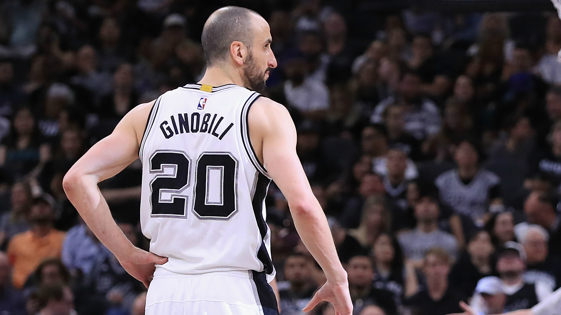 reputable site 8a801 362bb Spurs to retire Manu Ginobili's No. 20 jersey | Sporting News