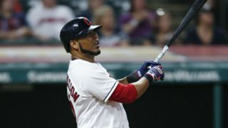 Edwin Encarnacion Minnesota Twins v Cleveland Indians MLB regular season 06082018