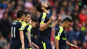 Oliver Giroud Arsenal vs Stoke City Premier League 13052017