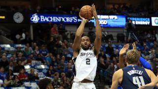 Kawhi Leonard San Antonio Spurs v Mavericks 13122017