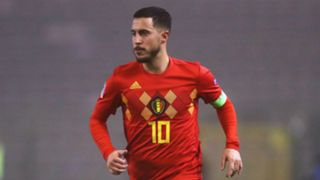 Eden Hazard Bélgica Nations League