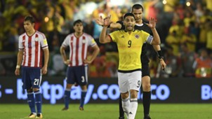 Radamel Falcao Colombia v Paraguay WC qualifying south america 05102017