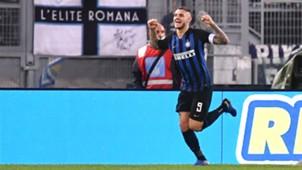 Mauro Icardi Lazio v Inter Serie A 29102018
