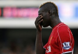 Mario Balotelli Liverpool Premier League England