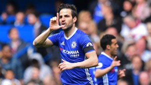 Cesc Fabregas Chelsea v Crystal Palace Premier League 01042017