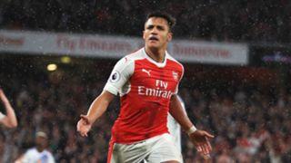 Alexis Sanchez Arsenal Sunderland Premier League 16052017