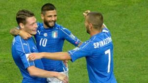 Italy v Liechtenstein World Cup qualifiers 06112017
