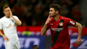 Lucas Alario Bayer Leverkusen v Werder Bremen Bundesliga 13122017