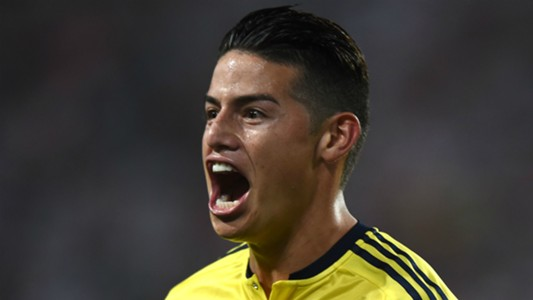 James Rodriguez Peru v Colombia WC qualifying south america 10102017