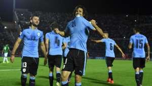 Edinson Cavani Uruguay v Bolivia Eliminatorias Sudamericanas 10102017