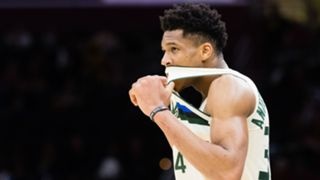Giannis Antetokounmpo Bucks vs Cleveland NBA 19032018