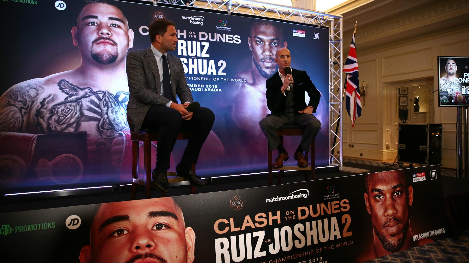 Anthony Joshua v Andy Ruiz Jr. Press Conference