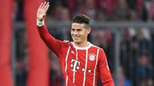 James Rodriguez FC Bayern Muenchen v RB Leipzig Bundesliga 28102017