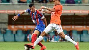 Emanuel Biancucchi Bahía v Vallejo Copa Sudamericana 01102014