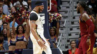 Anthony Davis New Orleans Pelicans vs Cleveland Cavaliers NBA 28102107