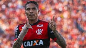 Paolo Guerrero Flamengo v Sport Recife Brasileirao Series A 16092017