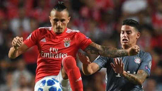 James Rodriguez SL Benfica v FC Bayern Muenchen UEFA Champions League 19092018