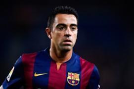 Xavi Hernandez - FC Barcelona v Club Leon - Joan Gamper Trophy