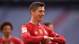 Bayern superstar Robert Lewandowski