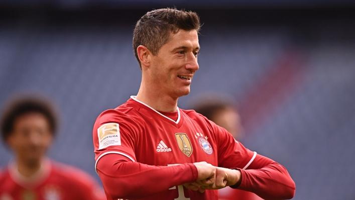 Robert Lewandowski Bayern Munich Stuttgart Bundesliga 03202021