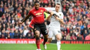 Antonio Valencia Manchester United v Wolverhampton 22092018